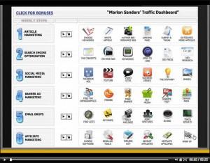 Marlon Sanders Traffic Dashboard Review