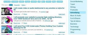 fiverr find freelancer - search job category