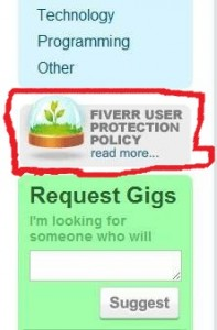 fiverr finding service provider - fiverr user protection policy