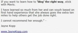 underground blogging secrets bonus-real users testimonial4