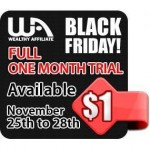 black friday cyber monday wealthy affiliate now 1 dollar