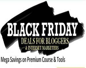 internet marketing black friday cyber monday deals bloggers