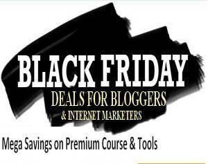 internet marketing black friday cyber monday deals bloggers